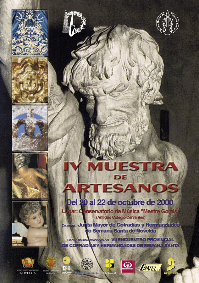 Cartel Artesanos. VII Encuentro Provincial de Cofradías y Hermandades de Semana Santa