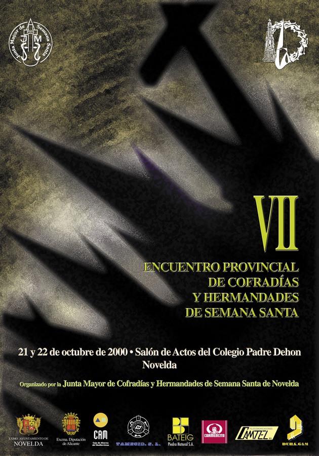 Cartel Encuentro. VII Encuentro Provincial de Cofradías y Hermandades de Semana Santa